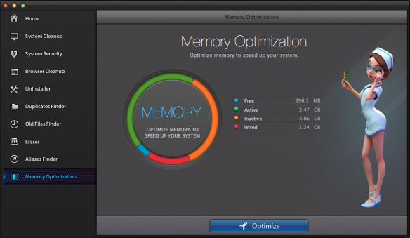 iCare - Memory optimization