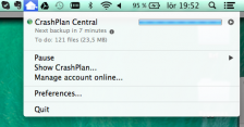 Crashplan Notify